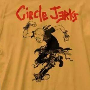 New Circle Jerks Skank Man Punk Rock Shirt